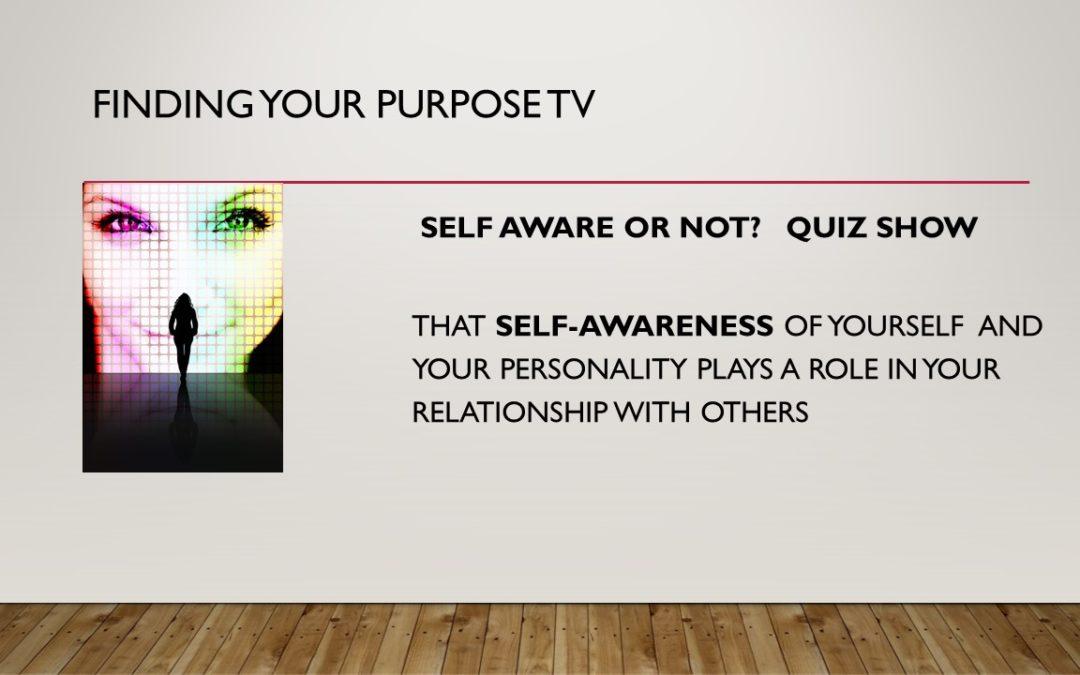 Self Awareness Quiz Show